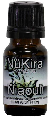 Niaouli Essential Oil (Melaleuca quinquenervia aka Melaleuca viridiflora) Therapeutic Grade By NuKira (10 Ml)