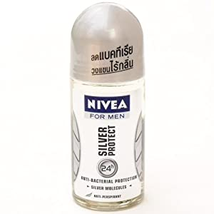 Nivea for Men Silver Protect 24hr Deodorant (50ml) Nivea