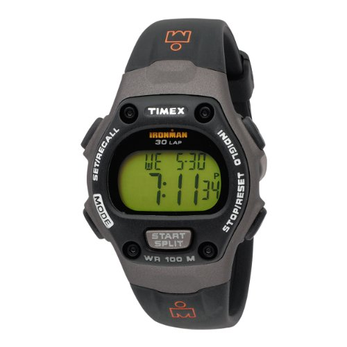 Timex Midsize T53161 Ironman 30-Lap Resin Strap Sports Watch