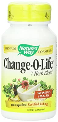 Nature's Way Change-O-Life 7 Herb Blend, 440 mg, 100 Capsules