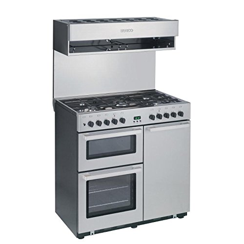 Burco Cook Centre 4 Burner Dual Fuel Range /Commercial Kitchen Restaurant Cafe