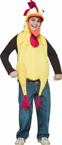 Rubber Chicken Child Costume Size 7-10