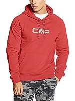 CMP Campagnolo Sudadera con Capucha 3D39357 (Rojo)