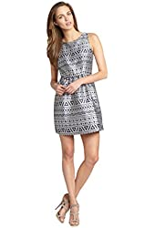 Romeo & Juliet Couture Women's Fit Flare Sleeveles Dress