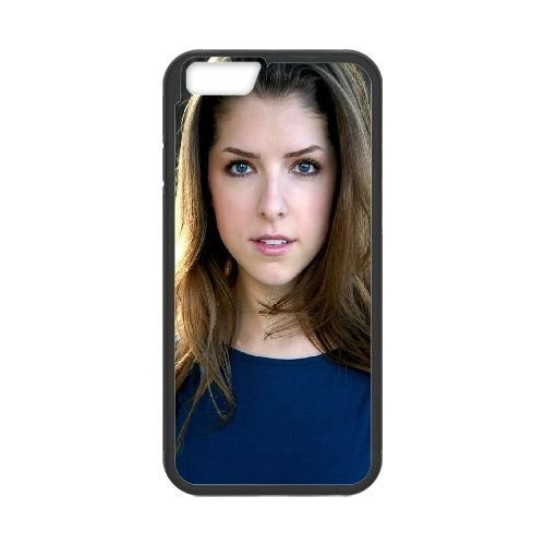 Anna Kendrick iPhone 6 Plus 5.5 Inch Cell Phone Case Black R7T8XK