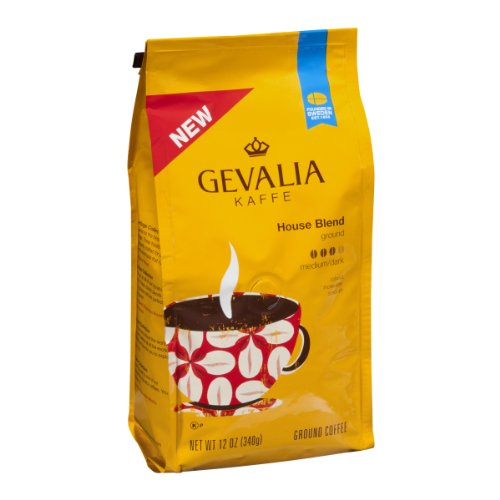 Gevalia Kaffe House Blend Ground Coffee Medium/Dark