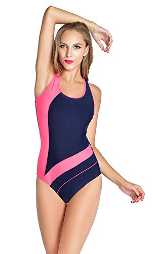 womens-color-block-cut-out-racer-back-plunge-neck-1pc-pro-athletic-swimsuit-large