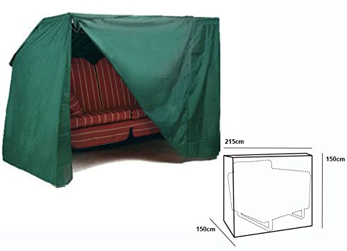 WOLTU #126 Schutzhülle Schutzhaube Hülle für Gartenmöbel wasserdicht Grün (für Hollzwoodschaukel Grün GZ1166)