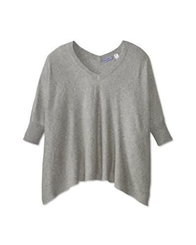 Acrobat Women's V-Neck Poncho Sweater