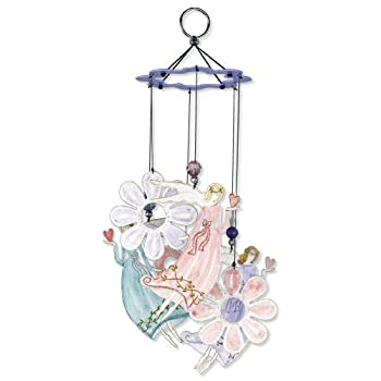 Sunset Vista Designs Angel Garden Wind Chime, 12-Inch Long