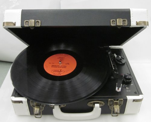 crosley cruiser portable turntable test