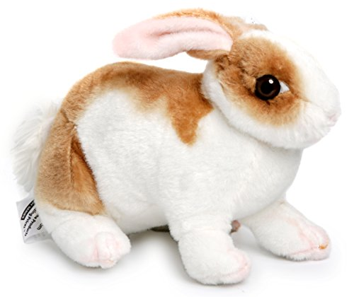 Robbie the Rabbit | 11 Inch Realistic Stuffed Animal Plush Bunny | By VIAHART
