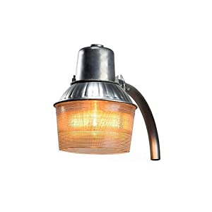 Intermatic DD100MH Outdoor Lighting, Metal Halide Area Light 100W Dusk To Dawn - Aluminum
