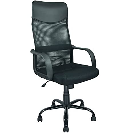 New Black Modern Fabric Mesh High Back Office Task Chair Computer Desk Seat O25 by BestOffice