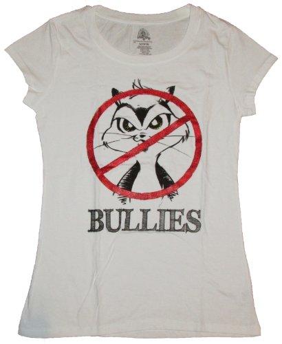 Looney Tunes No Bullies Bugs Bunny Daffy Duck Graphic T-Shirt - Medium