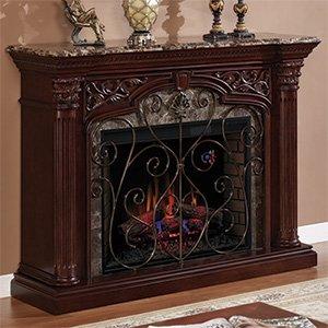 Astoria Electric Fireplace Mantel in Empire Cherry - 33WM0194-C232 photo B009LB4O9C.jpg