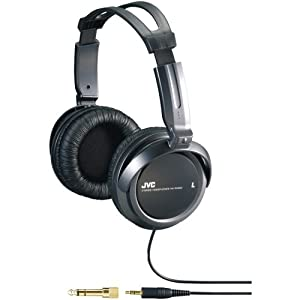 JVC HARX300 Full-Size Headphones (Black)