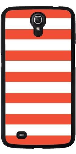 Hülle für Samsung Galaxy Mega 6.3 GT-I9205 - In Rot Und Weiß