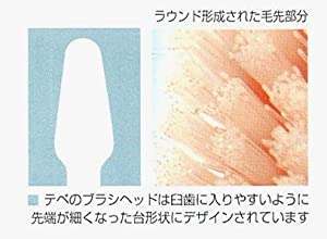 クロスフィールドTePeテペセレクトコンパクト歯ブラシ 25本(コンパクトミディアム)