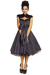Rockabilly-Kleid mit Petticoat