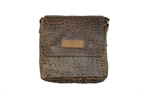 Panashe Leather Brown Sling Bag