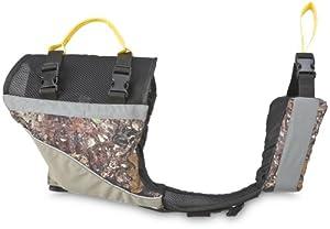 MTI Adventurewear UnderDog Canine Life Jacket (Khaki/Camouflage, X-Small)