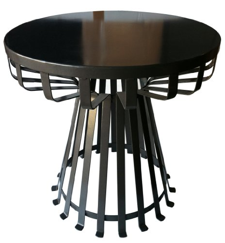 Pangaea Home and Garden Flat Iron Base Side Table photo