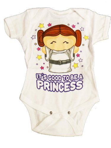 Star Wars Its Good To Be A Princess Infant Onesie | 12-18
