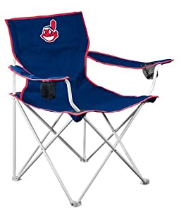 MLB Cleveland Indians Deluxe Folding Chair by Logo