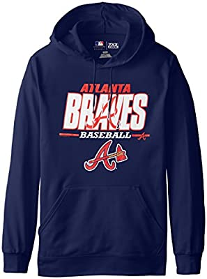 MLB Atlanta Braves Men's SA2 Fleece Hoodie