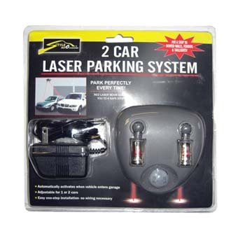 Style Auto Dual Garage Laser Parking System