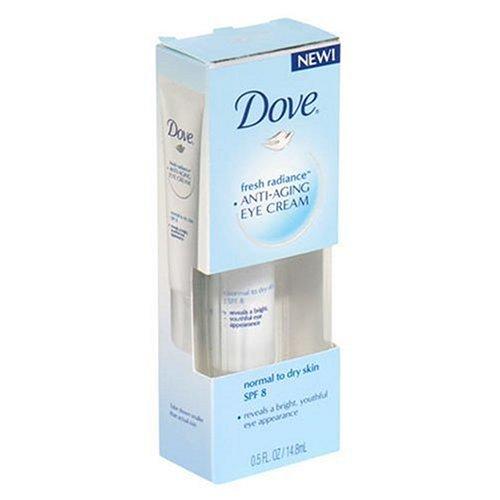 Dove Fresh Radiance Anti-Aging Eye Cream, Spf 8, Normal/Dry Skin, 0.5 Ounce