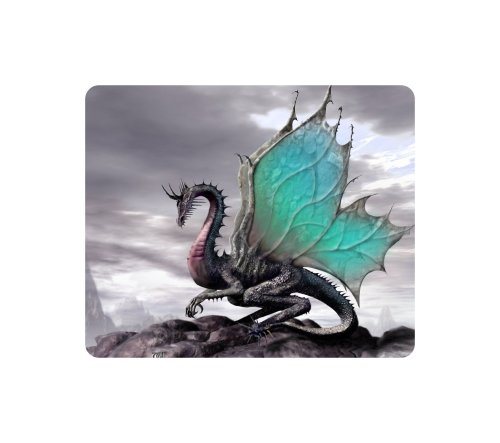 Brand New Dragon Mouse Pad Mountains
