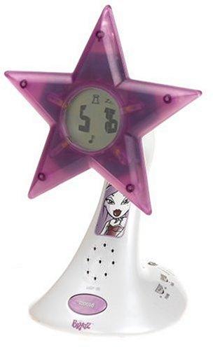 Bratz Plugged in Star Alarm Clock/Radio