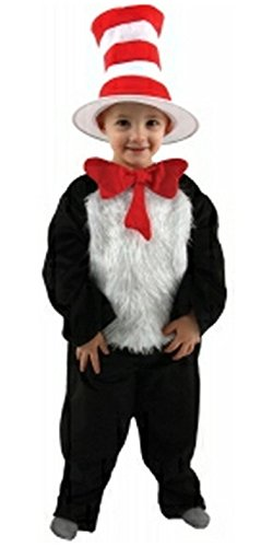 Cat in the Hat Costume - Toddler Size (2T-4T)