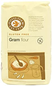 Doves Farm Stoneground Gram Flour 1 kg (Pack of 5) by Doves Farm