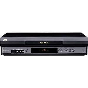 JVC HRS2902U VCR, Black
