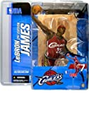 McFarlane NBA Series 7 Lebron James in Cleveland Cavaliers Red Jersey Figure Amazon.com