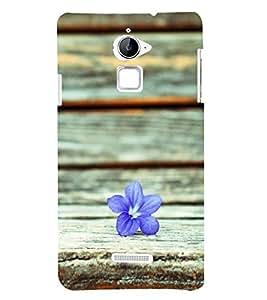 A flower 3D Hard Polycarbonate Designer Back Case Cover for Coolpad Note 3 Lite :: Coolpad Note 3 Lite Dual SIM