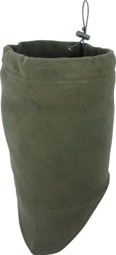 Jack Pyke Full Length Fleece Neck Gaiter - Green image