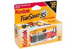 Kodak Fun Saver 35 Flash Camera, 6 Cameras (162 exposures)