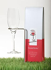 Steady Sticks Wine Glass Holders (pair)