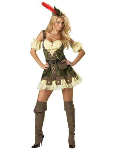 Racy Robin Hood Large Adult Womens Costume
