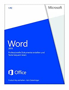 Microsoft Word 2013 - 1PC (Product Key) [Download]