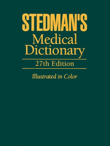 Stedman's Medical Dictionary [Large Print]