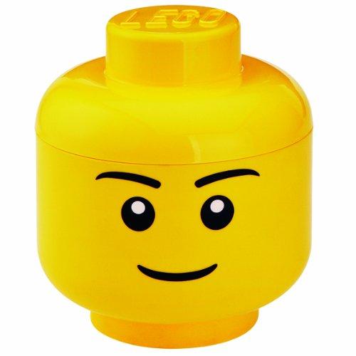 LEGO Lizenzkollektion 40321732 - Aufbewahrungskopf, L, groß, Junge