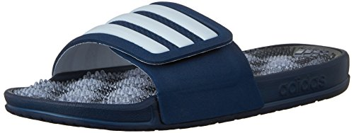 adidas Performance Women's Adissage 2.0 Stripes W Athletic Sandal