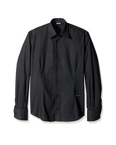 Just Cavalli Men's Slim Fit Sportshirt