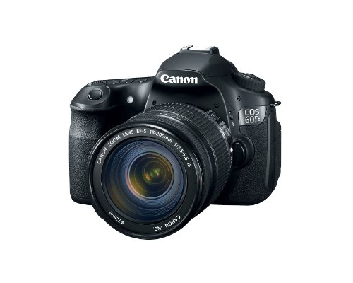 Canon EOS 60D 18 MP CMOS Digital SLR Camera with 3.0-Inch LCD and EF-S 18-200mm f/3.5-5.6 IS Standard Zoom Lens Big SALE