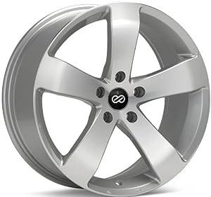Enkei GP5- Performance Series Wheel, Silver Machined (16×7.5″ – 5×114.3/5×4.5, 38mm Offset) One Wheel/Rim